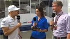 Valterri Bottas joins Lee McKenzie and David Coulthard for Inside F1