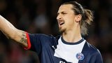 Paris St-Germain striker Zlatan Ibrahimovic