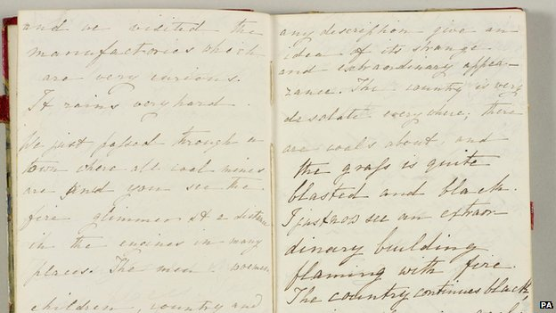 Extract from Princess Victoria's Journal from 2 August 1832
