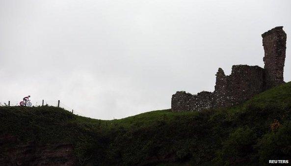 Red Bay Castle, near Cushendall