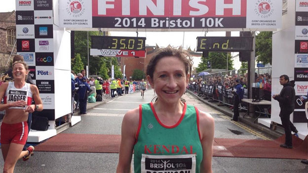 Rebecca Robinson in a time of 34 minutes and 11 seconds