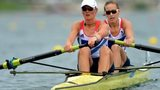 Heather Stanning and Helen Glover