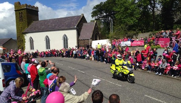 Crowds at Giro