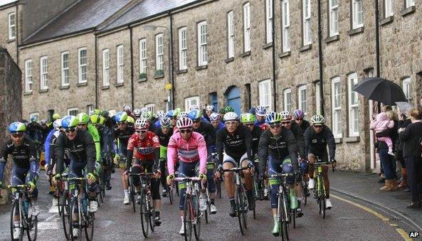 Giro d'Italia in Armagh