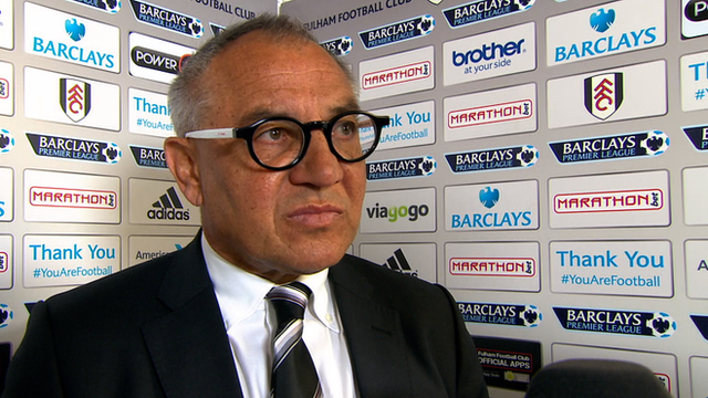 Fulham 2-2 Crystal Palace: Magath 'proud' of youngsters