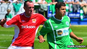 Jersey and Guernsey player in Muratti fixture