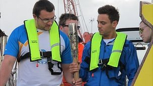 Zane Duquemin and Tom Daley