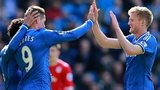 Fernando Torres (left) celebrates with team-mate Andre Schurrle