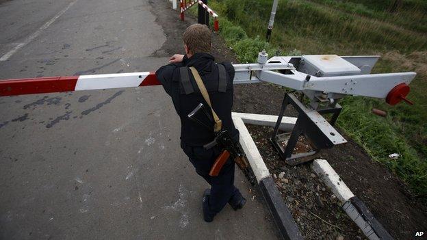Armed militia in Ukraine