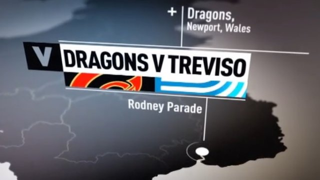 Highlights: Dragons 20-19 Treviso