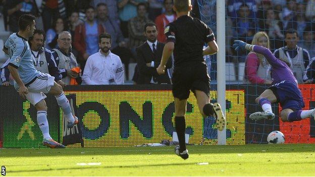 Charles scores for Celta Vigo