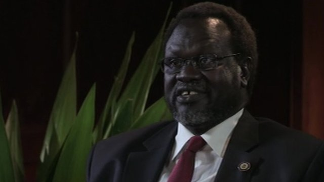 South Sudan rebel leader, Riek Machar