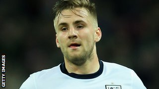 England international Luke Shaw
