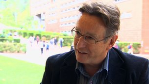 University of New South Wales' Australian School of Business, professor Chris Evans