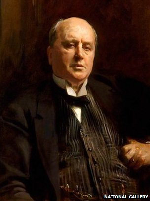 Henry James by John Singer Sargent after restoration