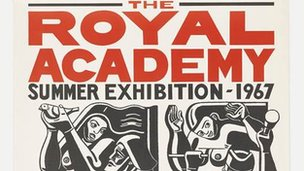 1967 Summer Exhibition poster