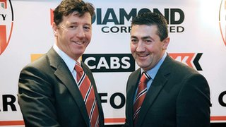 Roddy Collins is believed to have fallen out with his assistant manager Peter Hutton