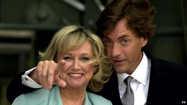 Judy Finnigan and Richard Madeley