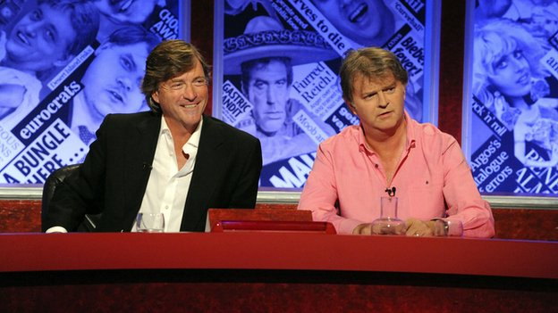 Richard Madeley and Paul Merton