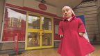Kiruna Stamell outside central Birmingham Post Office