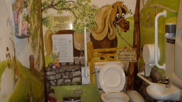 Gypsy Wood toilets
