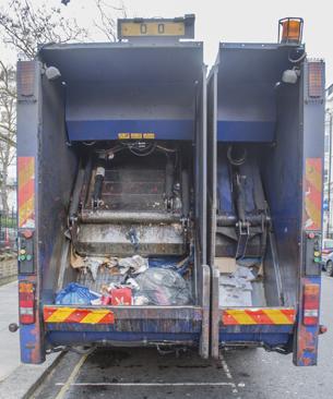 Reversing truck