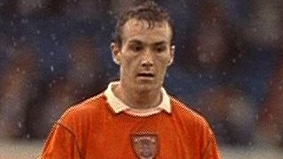 Micky Mellon, in his Blackpool days