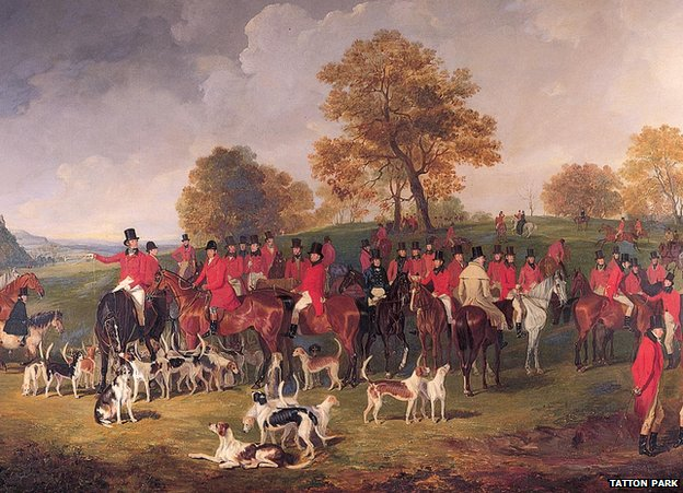 The Cheshire Hunt by Henry Calvert