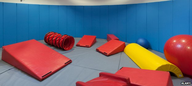A children's softplay area