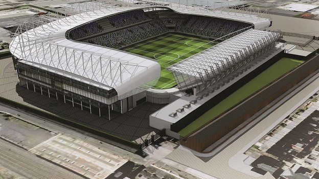 Windsor Park stadium plan