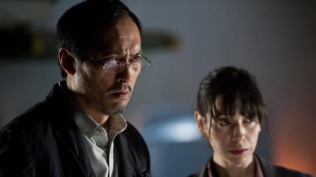 Ken Watanabe and Sally Hawkins