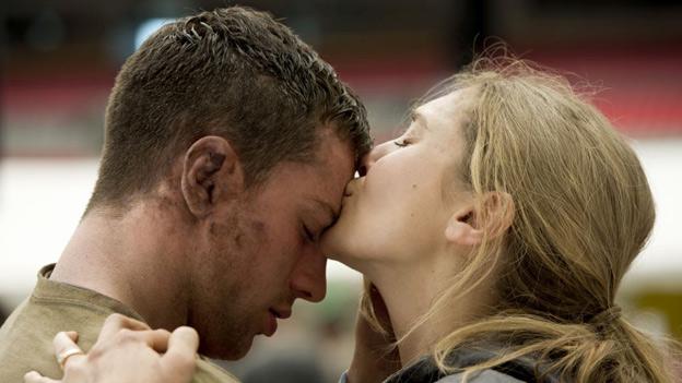 Aaron Taylor-Johnson and Elizabeth Olsen