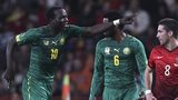 Vincent Aboubakar (left)