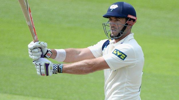 Yorkshire fast bowler Liam Plunkett