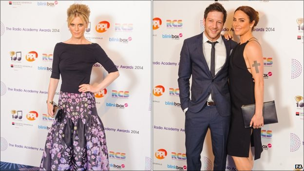 Emilia Fox, Matt Cardle and Melanie C