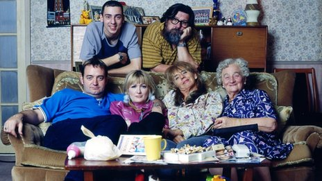 Ralf Little, Ricky Tomlinson, Craig Cash, Caroline Aherne, Sue Johnston and Liz Smith