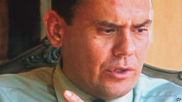 Carlos Castano in a TV interview in 2000