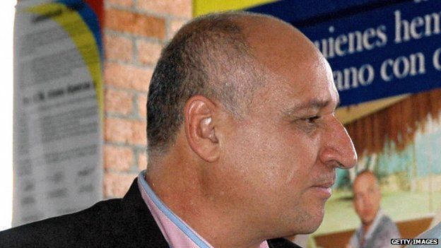 Vicente Castano in a file picture from 13 July, 2006