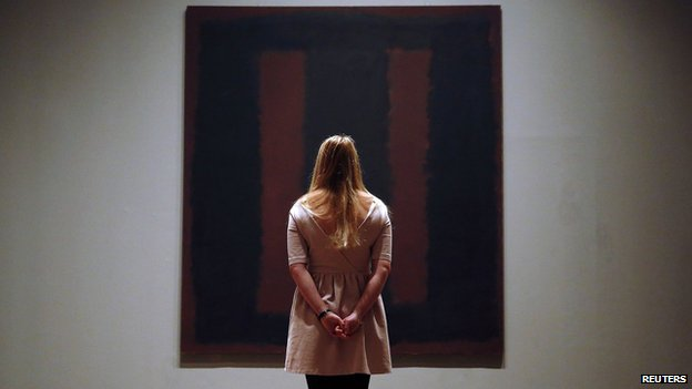 Rothko's Black on Maroon at Tate Modern