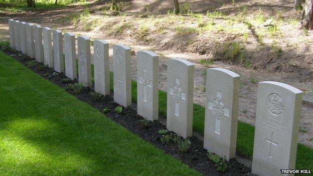 Lidzbark Warminski cemetery