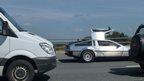DeLorean car