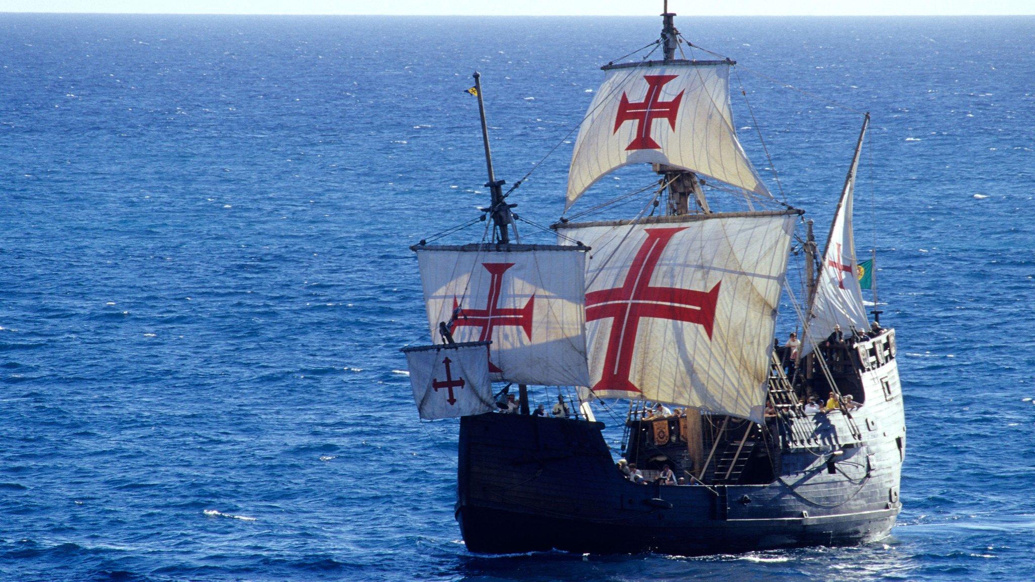 Christopher Columbus's Santa Maria wreck 'found' - CBBC ...