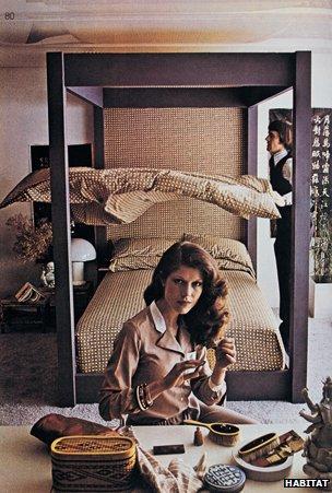 1970s duvet ad