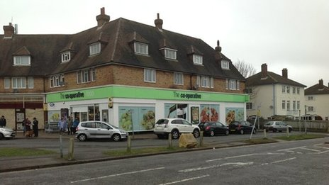 The Co-operative store at Tattenham Corner