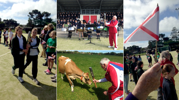 Baton relay in Jersey