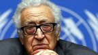 UN Syria envoy Brahimi stepping down