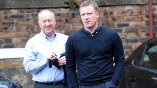 Billy Brown and Gary Locke were dispensed with as Craig Levein took charge of Hearts' football operations