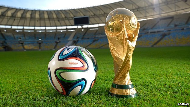 Brazuca ball and World Cup