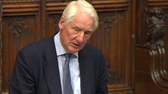 Former Cabinet secretary Lord Butler of Brockwell,