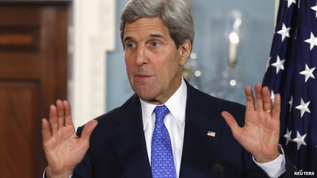 """John Kerry told China that US had """"strong concerns"""" over recent developments in South China Sea"""